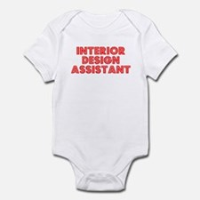 Retro Interior De.. (Red) Infant Bodysuit