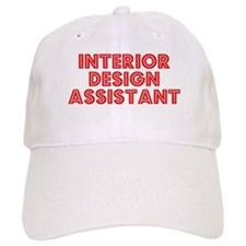 Retro Interior De.. (Red) Baseball Cap