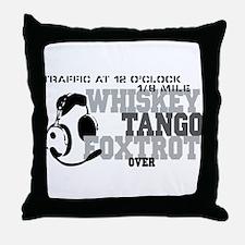 Aviation Humor Throw Pillow
