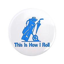 """Golfing Dad 3.5"""" Button"""