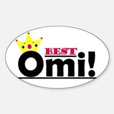 Best Omi Oval Decal