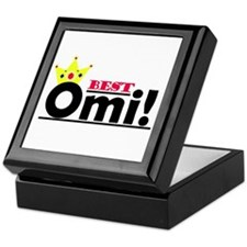 Best Omi Keepsake Box