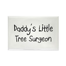 Daddy's Little Tree Surgeon Rectangle Magnet (10 p