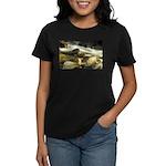 Red Stream Women's Dark T-Shirt
