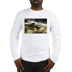 Red Stream Long Sleeve T-Shirt