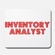 Retro Inventory A.. (Red) Mousepad