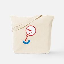Puking Obama Logo Tote Bag