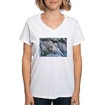 Pockwockamus Rock Women's V-Neck T-Shirt