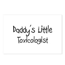 Daddy's Little Toxicologist Postcards (Package of