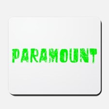 Paramount Faded (Green) Mousepad
