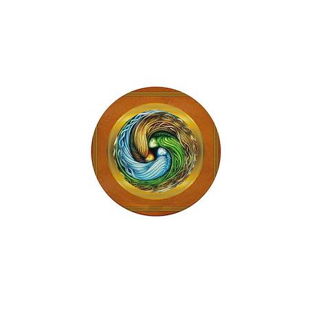 Triple Goddess Mini Button (100 pack)