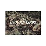 Geology Rocks Rectangle Magnet