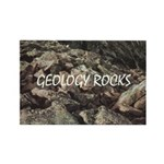 Geology Rocks Rectangle Magnet (10 pack)