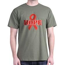 Red Hope Ribbon T-Shirt