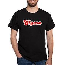 Retro Elyssa (Red) T-Shirt