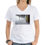 Winter Summit Women's V-Neck T-Shirt