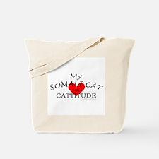 SOMALI CAT Tote Bag