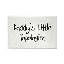 Daddy's Little Topologist Rectangle Magnet