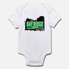 BAY RIDGE PARKWAY, BROOKLYN, NYC Infant Bodysuit