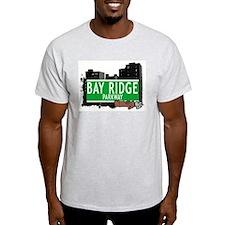 BAY RIDGE PARKWAY, BROOKLYN, NYC T-Shirt