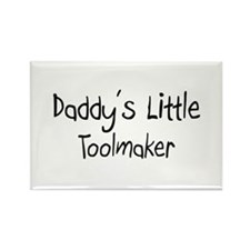 Daddy's Little Toolmaker Rectangle Magnet