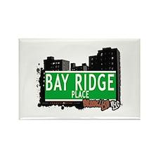 BAY RIDGE PLACE, BROOKLYN, NYC Rectangle Magnet