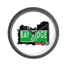 BAY RIDGE PLACE, BROOKLYN, NYC Wall Clock