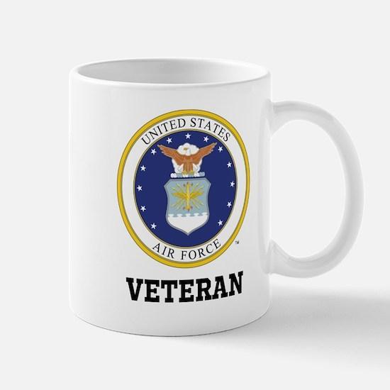 Personalized Air Force Veteran Mugs