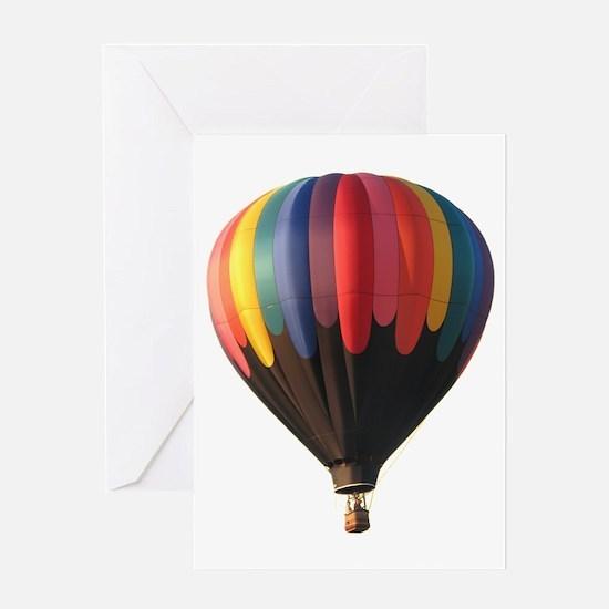 Helaine's Hot Air Balloon 1 Greeting Card