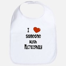 Luv someone with Microcephaly Bib