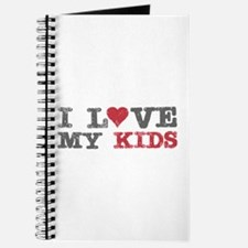 I Love Heart My Kids Journal