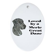 NM Loved Oval Ornament