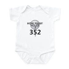 352 Holes Infant Bodysuit