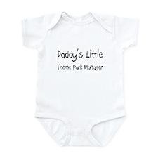 Daddy's Little Theme Park Manager Infant Bodysuit