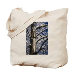 Snowy Maple Tote Bag