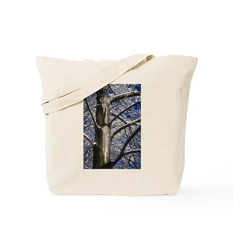 Snowy Maple Tote Bag