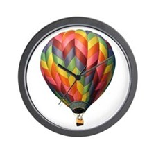 Helaine's Hot Air Balloon 2 Wall Clock