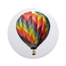 Helaine's Hot Air Balloon 2 Ornament (Round)