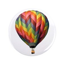 "Helaine's Hot Air Balloon 2 3.5"" Button (100 pack)"
