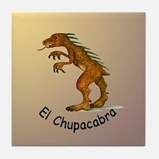 Chupacabra Tile Coaster
