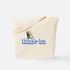 Sewing Thimble Tote Bag