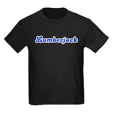 Retro Lumberjack (Blue) T