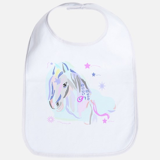 Colorful Horse2 Bib