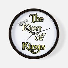 King of Kings Christian Wall Clock
