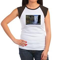Waterfall Women's Cap Sleeve T-Shirt