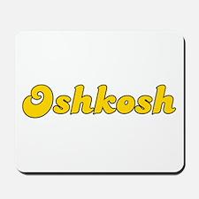 Retro Oshkosh (Gold) Mousepad