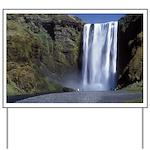 Waterfall Yard Sign