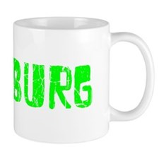 Pittsburg Faded (Green) Mug