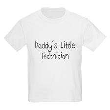 Daddy's Little Technician T-Shirt
