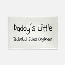 Daddy's Little Technical Sales Engineer Rectangle